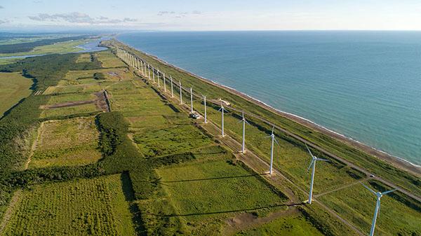 幌延町 オトンルイ風力発電所